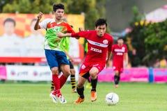 SISAKET THAILAND-September 17: Tatree Seeha of Sisaket FC. Stock Photo