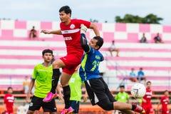 SISAKET THAILAND-September 17: Unidentified goalkeeper of Sisaket Utd Stock Photo