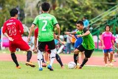 SISAKET THAILAND-September 17: Unidentified player of Sisaket Utd Stock Images