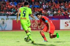 SISAKET THAILAND-SEPTEMBER 12: Victor Amaro of Sisaket FC. (oran Stock Images