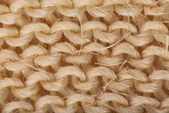Sisal Abstract background. Sisal fibre macro natural abstract background Royalty Free Stock Photography