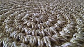 Beige sisal rug Decoration. Sisal beige carpet made in Brazil, South America royalty free stock images