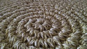 Beige sisal rug Decoration. Sisal beige carpet made in Brazil, South America stock image