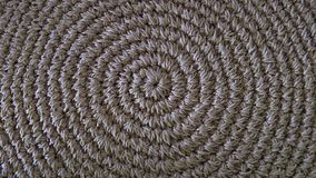 Beige sisal rug Decoration. Sisal beige carpet made in Brazil, South America stock photos