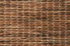Sisal carpet. Closeup detail of a brown sisal carpet texture background royalty free stock images
