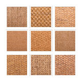 Sisal collage Royalty Free Stock Photography