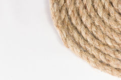 Sisal rope Royalty Free Stock Photography