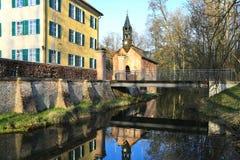 Sisi slott i Unterwittelsbach, Tyskland fotografering för bildbyråer