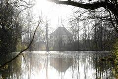 Sisi slott i Unterwittelsbach, Tyskland royaltyfri foto