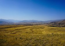 Sisian Landscape View stock photography