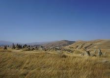 Sisian Zorats Karer Stonehenge Rocks stock photos