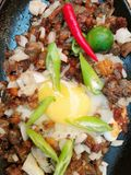 Sisig kapampangan Royalty Free Stock Photography