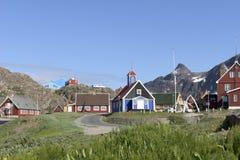 Sisimiut, Grönland stockbilder