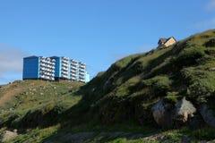 Sisimiut in Grönland lizenzfreies stockfoto