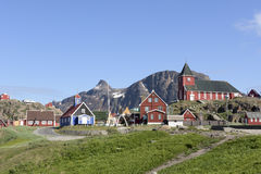 Sisimiut, Groenland Stock Foto