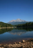 Siskyou Lake at Mount Shasta Royalty Free Stock Image