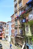 Sisli,伊斯坦布尔Elmadag区  库存图片