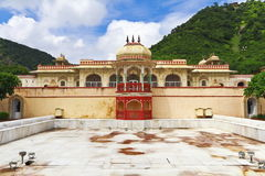 Sisodia Rani Palace Jaipur. Sisodia Rani Palace and Garden of Jaipur. built by Maharaja Sawai Jai Singh II in 1779 for his second wife,She hailed from the stock photography
