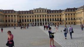 Sissi Castle-  Vienna, Austria - Europa stock video footage