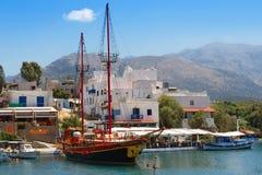 Sissi. Crete Stock Image