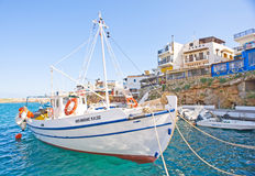 Sissi harbor Crete. Royalty Free Stock Photo