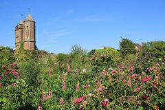 Sissinghurst Castle In The Summer. Stock Photos