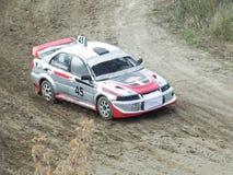 Sista kopp av Ryssland i autocross Royaltyfria Bilder