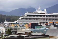 Sista kryssning i Alaska Arkivfoton