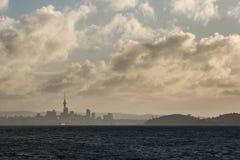 Sista ljus för Auckland Royaltyfria Foton