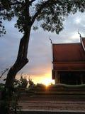 Sista ljus för solnedgång av dagen Royaltyfria Foton