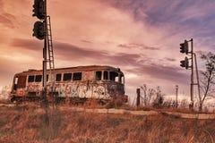 Sista station Arkivfoton