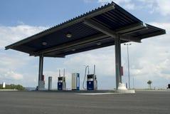 sista stationsvärld för gas Arkivfoto
