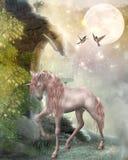 sista unicorn Arkivbilder