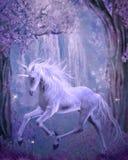 sista unicorn Arkivfoton