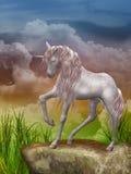 sista unicorn arkivfoto