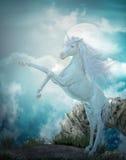 sista unicorn Royaltyfria Foton