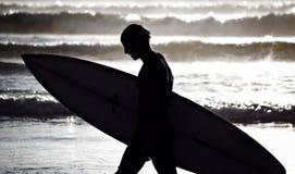 sista wave Fotografering för Bildbyråer