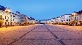 Sistani, Banska Bystrica magistrali SNP kwadrat Zdjęcie Stock