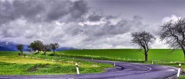 Sistani wiosny krajobraz obraz royalty free