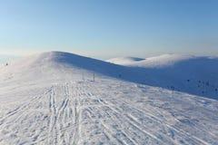 Sistani zimy góra - Velka Fatra zdjęcia royalty free