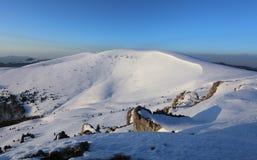Sistani zimy góra - Velka Fatra fotografia royalty free