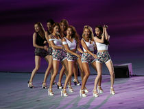 SISTAR girl group of South Korea Royalty Free Stock Photography