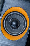 Sistem för ljud för music_audio för Pengeras suara ljudsignal Arkivfoto