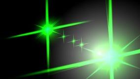 Sistema óptico de la transición de las llamaradas Chanel alfa incluido resolución 4K ilustración del vector