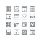 Sistema útil del icono Imagen de archivo libre de regalías
