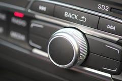 Sistema acustico dell'automobile di alta fedeltà Immagini Stock
