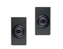 Sistema acustico isolato Fotografia Stock