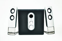Sistema acustico stereo Fotografia Stock