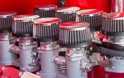 Sistema ad iniezione del motore di V8 Fotografia Stock Libera da Diritti