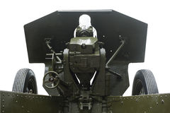 Sistema apontar e carregar dos obus Imagens de Stock